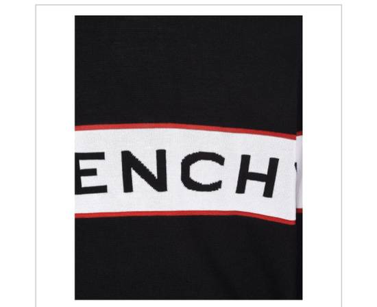 Givenchy BRAND NEW GIVENCHY LOGO EMBROIDERED WOOL SWEATER Size US M / EU 48-50 / 2 - 4