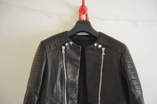Balmain Classic Leather Biker Size US M / EU 48-50 / 2 - 2