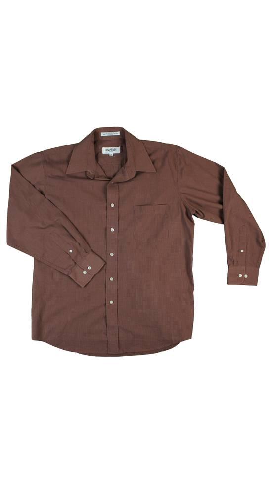 Balmain Balmain Paris Vintage Mens Dress Shirt Size Large or (16 32/33) Size US L / EU 52-54 / 3