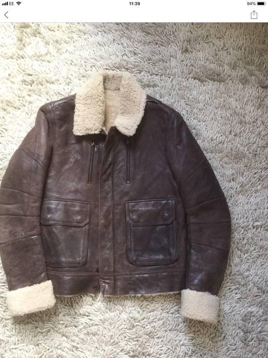 Balmain Balmain Shearling Lined Aviator Jacket Size US M / EU 48-50 / 2