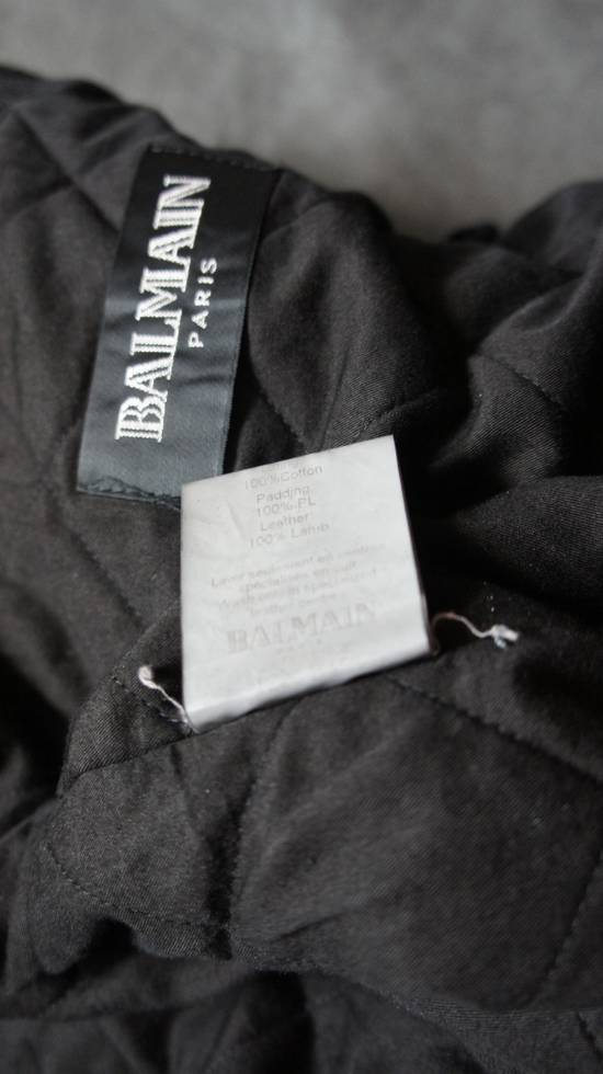 Balmain AW10 waxed parka by Decarnin Size US M / EU 48-50 / 2 - 10