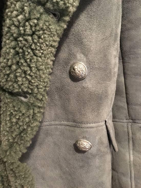 Balmain Shearling Military Coat Size US S / EU 44-46 / 1 - 2