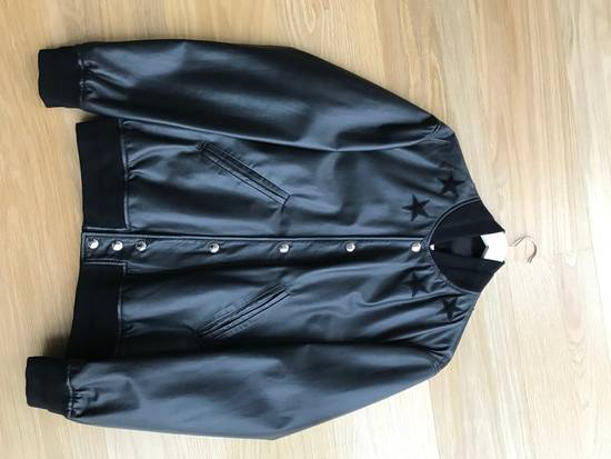 Givenchy Star Patch Leather Bomber Size US M / EU 48-50 / 2