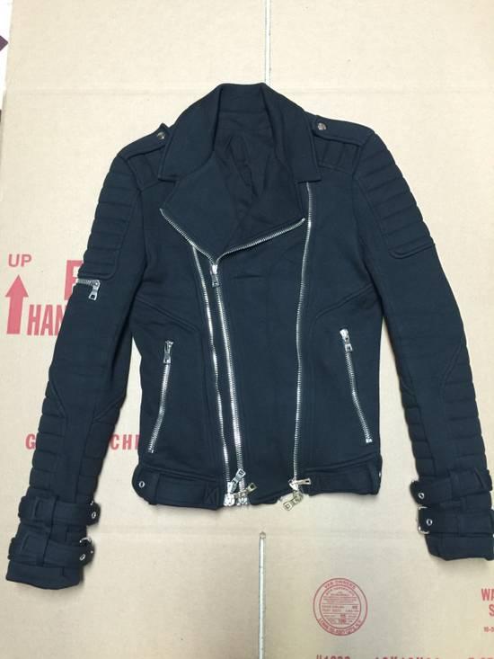 Balmain Balmain Cotton Biker Jacket Size US XS / EU 42 / 0 - 6