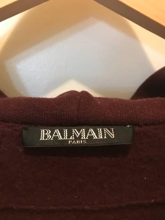Balmain Embroidered Crest Hoodie Size US M / EU 48-50 / 2 - 2