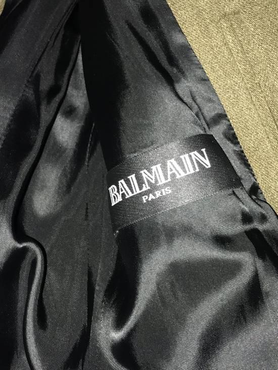 Balmain 11 FW Military high neck coat Size US M / EU 48-50 / 2 - 9