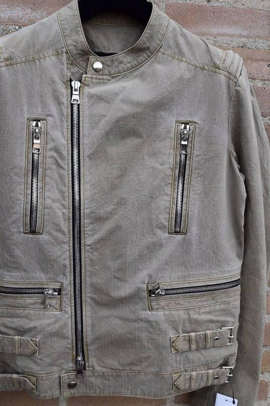 Balmain Balmain Authentic $1890 Cotten Biker Jacket Size M Brand New Condition Size US M / EU 48-50 / 2 - 1