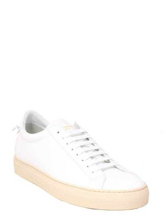 Givenchy Paris White Leather Sneakers Size US 12 / EU 45