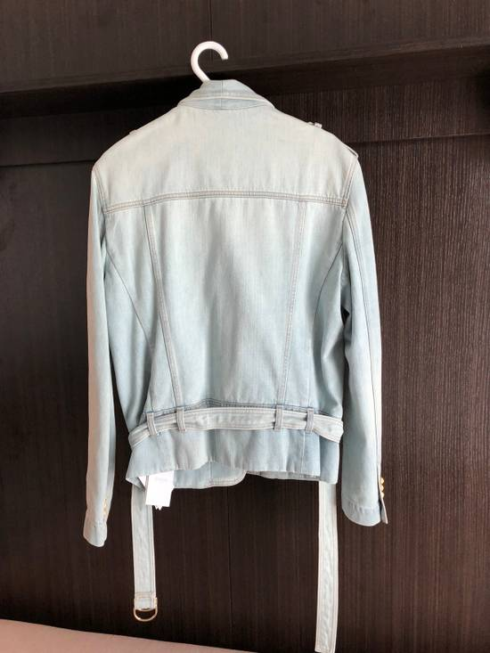 Balmain Balmain Light Blue Denim Cardigan Blazer Size US M / EU 48-50 / 2 - 1