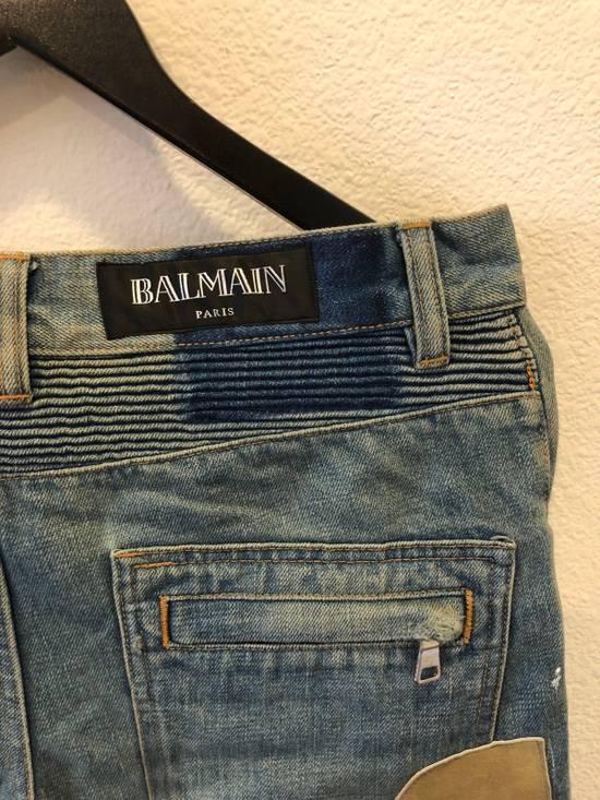 Balmain Patchwork Jeans Size US 30 / EU 46 - 15