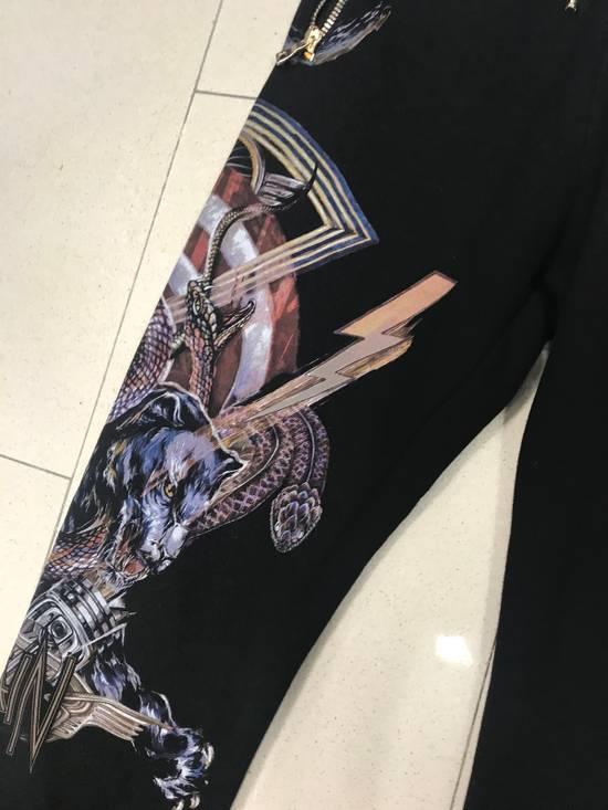 Balmain Rock Print Black Sweat Pants Size US 32 / EU 48 - 2