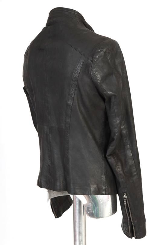 Julius Julius Dove Tail Leather Jacket EU46 Small Size 2 S/S 2012 Size US S / EU 44-46 / 1 - 13