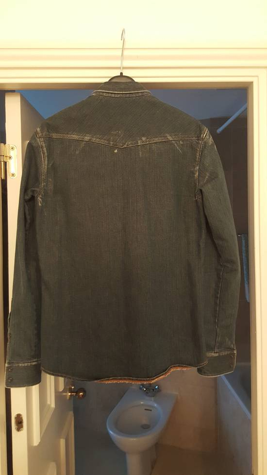 Balmain Decarnin-era dark denim shirt Size US M / EU 48-50 / 2 - 1