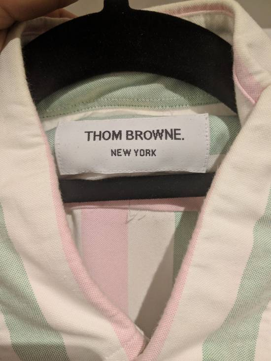 Thom Browne Thom Browne Striped Button Up Shirt Size US XL / EU 56 / 4 - 2