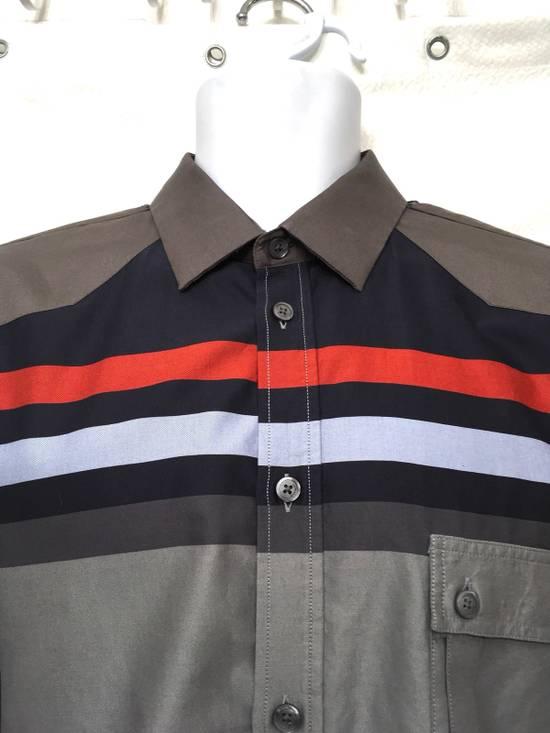 Givenchy Givenchy Paris Gray Horizontal Striped Button Shirt Size US L / EU 52-54 / 3 - 3