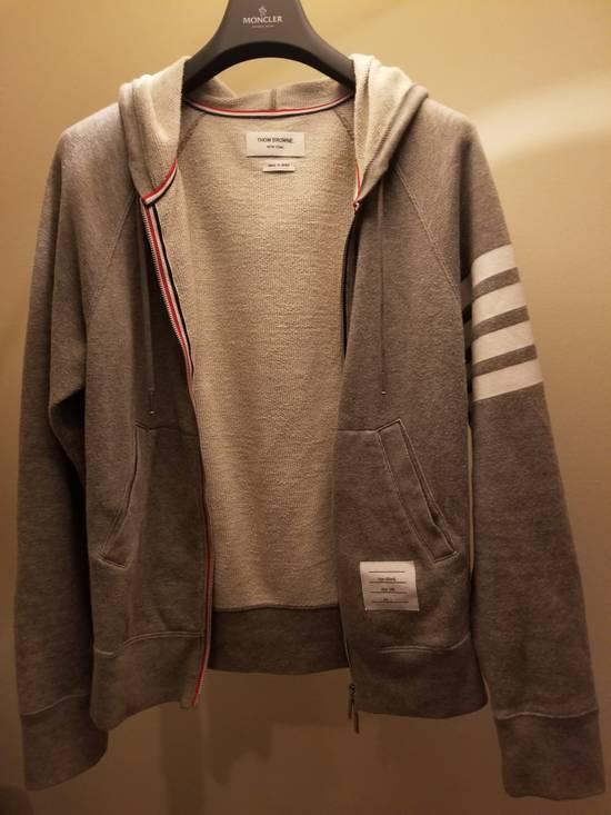 Thom Browne Grey Thom Browne Zip Up Hoodie Size 2 (Medium) Size US M / EU 48-50 / 2