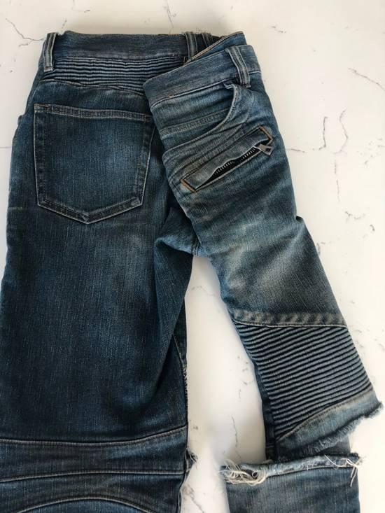 Balmain balmain biker ripped jean Size US 32 / EU 48 - 5
