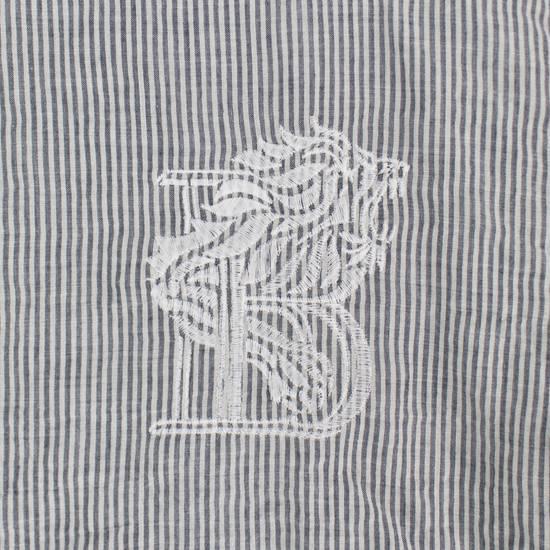 Balmain Navy Striped Button Down Casual Shirt Size 15.5 US 39 EU Size US XXS / EU 40 - 1