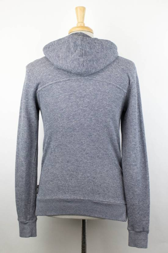 Balmain Men's Gray Cotton Blend Zip-Up Hooded Sweater Size XS Size US XS / EU 42 / 0 - 2