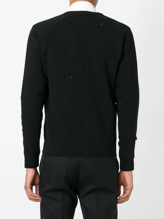 Givenchy Givenchy Destroyed Distressed Wool Slim Fit Rottweiler Knit Sweater Jumper size L (fitted M) Size US M / EU 48-50 / 2 - 3