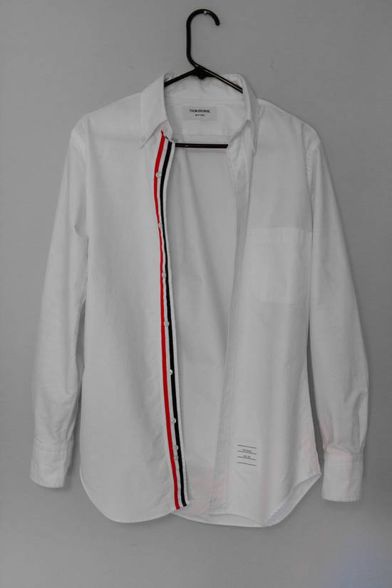 Thom Browne White Button Up Size US S / EU 44-46 / 1