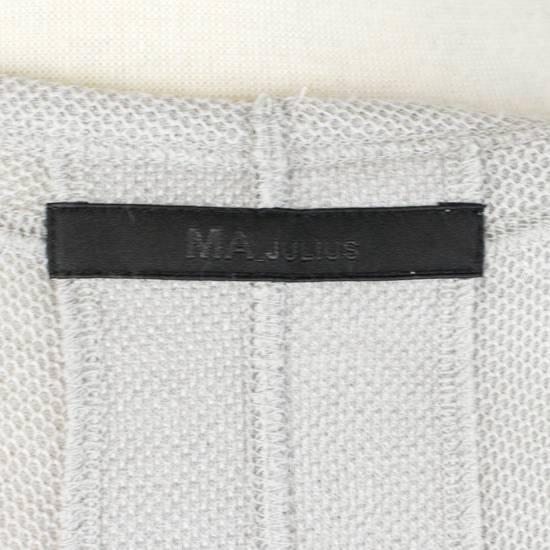 Julius MA_JULIUS Gray Cotton Blend 'Plaster' Long Tank Top T-Shirt Size 3/M Size US M / EU 48-50 / 2 - 6