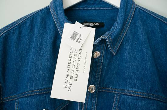 Balmain Denim shirt from Spring/Summer 14 collection Size US M / EU 48-50 / 2 - 4