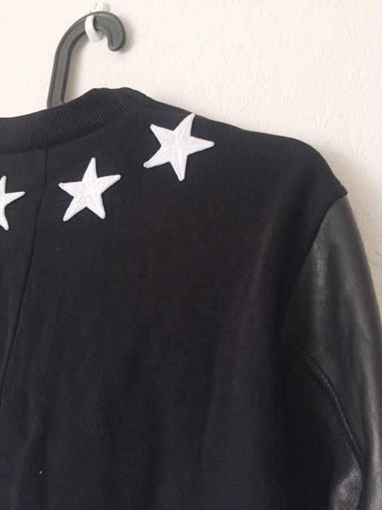 Givenchy Givenchy Star Neck Leather Shirt With Stripe Cuff Size US S / EU 44-46 / 1 - 5