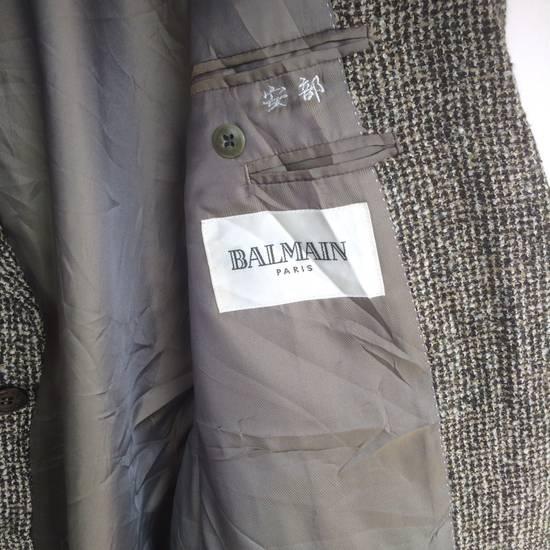 Balmain Tailored BALMAIN Blazer Italia Wool Woven by Ponzone Biellese Size 40R - 11