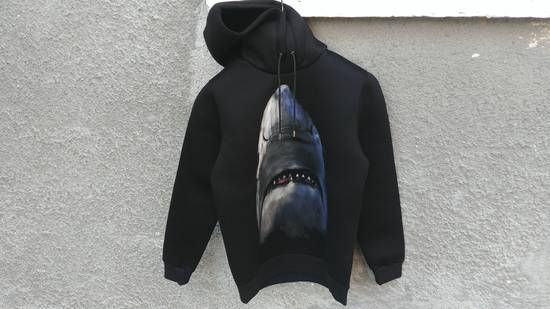 Givenchy $1350 Givenchy Shark Print Rottweiler Stars Neoprene Hoodie size XS Size US XS / EU 42 / 0