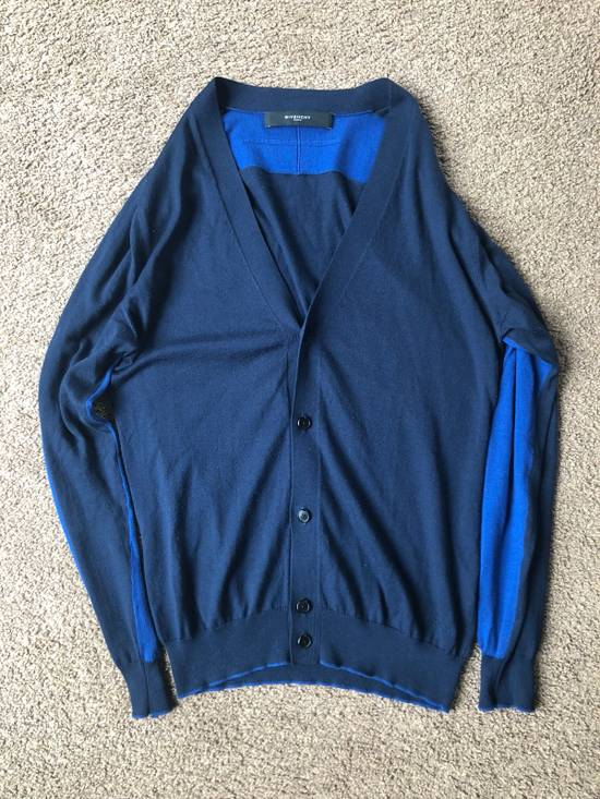 Givenchy Givenchy Navy and Blue Button Cardigan Size US M / EU 48-50 / 2