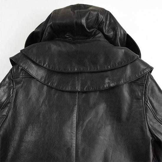 Givenchy AW10 oversized hood leather jacket Size US S / EU 44-46 / 1 - 5