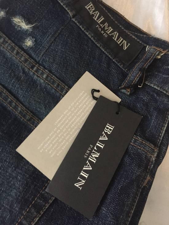 "Balmain $985 Decarnin ""3D"" Jeans Size US 34 / EU 50 - 3"