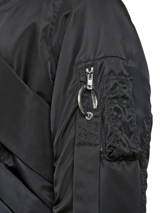 Givenchy Givenchy Black Banded Rottweiler Nylon Shell Bomber Jacket 2014 size 48 (M) Size US M / EU 48-50 / 2 - 9