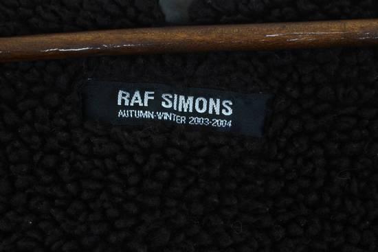 Raf Simons AW03 'Closer' Peter Saville Hand-painted Dazzle Ships Parka Size US M / EU 48-50 / 2 - 12