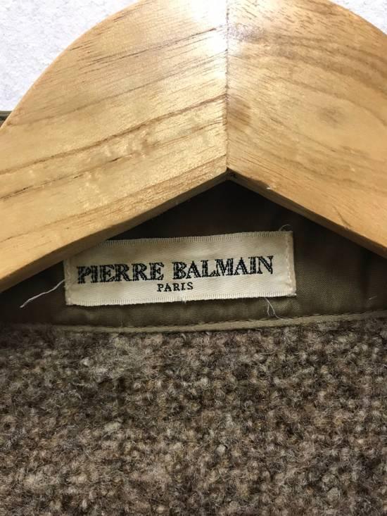 Balmain Pierre Balmain Paris 90s Cropped Jacket With Wool Lining Made in Japan Size US M / EU 48-50 / 2 - 6
