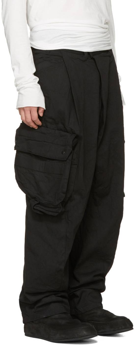 Julius NO MORE DROP, Black Gas Mask Cargo Pants SIZE 3 Size US 33