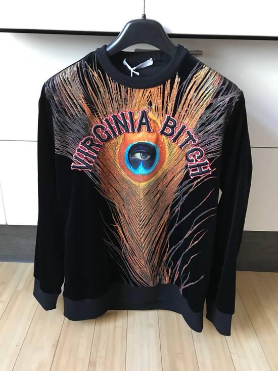 "Givenchy 1.2K GIVENCHY ""Virginia Bitch"" Velvet Sweatshirt New M Size US M / EU 48-50 / 2"