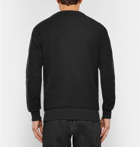 Balmain (PRICE FIRM) $1305 Balmain Leather Trimmed Cotton Floyd Mayweather Sweatshirt Size US L / EU 52-54 / 3 - 3