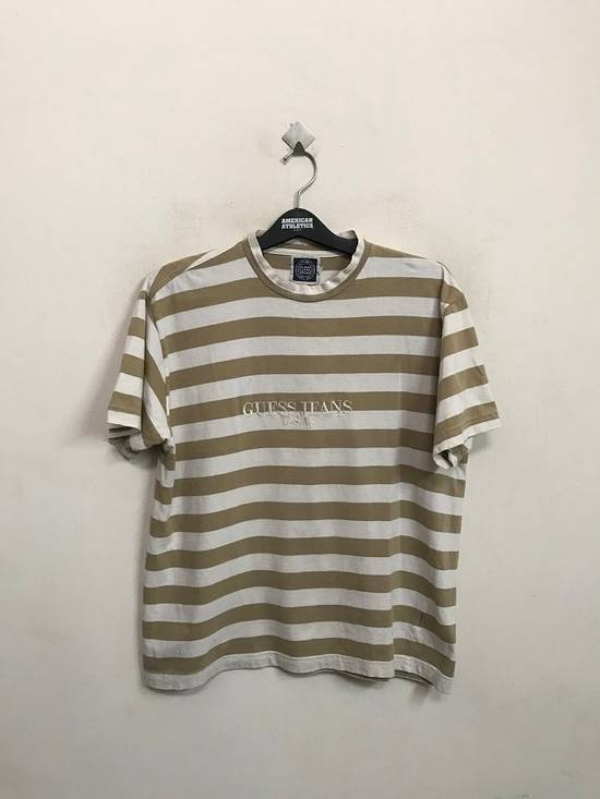Vintage Vintage 90s Guess Jeans U.S.A. Embroidered Striped t shirt Asap Rocky Style Size US M / EU 48-50 / 2 - 2