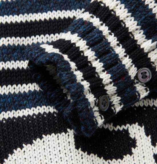 Thom Browne intarsia cotton and wool mohair blend sweater Size US XS / EU 42 / 0 - 2