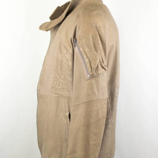 Julius 7 Men's Brown Lamb Skin Leather Zip-Up Jacket Size 3/M Size US M / EU 48-50 / 2 - 4