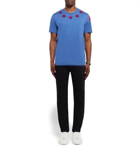 Givenchy Cuban-Fit 5 Star-Appliquéd Cotton-Jersey T-Shirt Size US L / EU 52-54 / 3 - 2