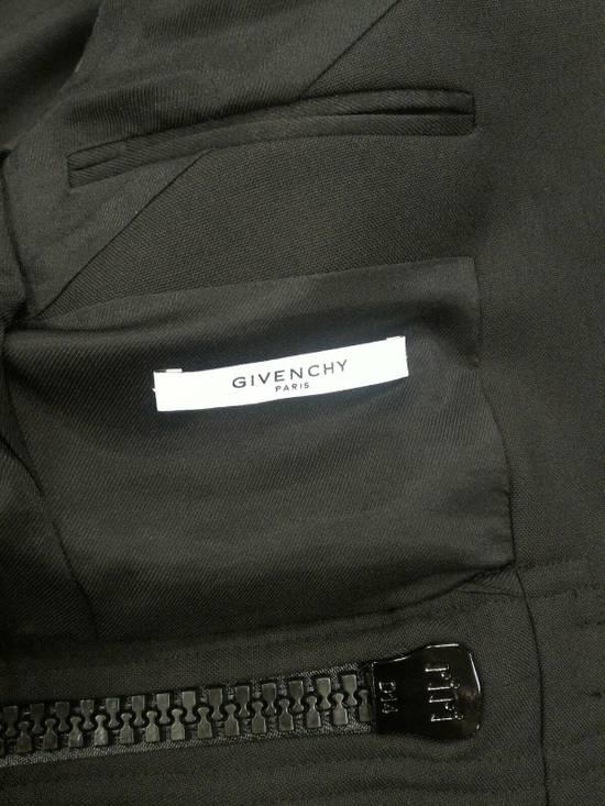 Givenchy 46-48 Zipped Blazer Mohair & Wool Jacket Size US M / EU 48-50 / 2 - 2