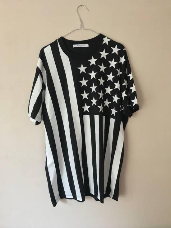 Givenchy Givenchy Stripes Stars USA Rare Fit Like L Tshirt Tees Gucci Louis Flag Size US L / EU 52-54 / 3