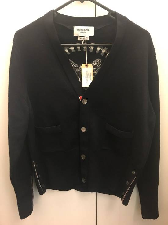 Thom Browne V Neck Cardigan Size US M / EU 48-50 / 2 - 2