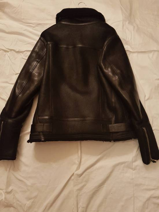 Balmain LAST DROP !!Shearling Leather Aviator Bomber Jacket Size US L / EU 52-54 / 3 - 5