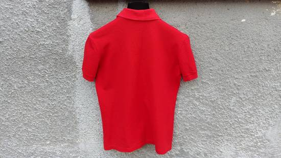 Givenchy Givenchy Red HDG Rottweiler Logo Bambi Stars Women's Relaxed Fit Polo T-shirt size S (M / L) Size US S / EU 44-46 / 1 - 4