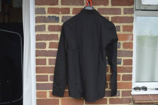 Givenchy Black Embroidered Outline Stars Shirt Size US L / EU 52-54 / 3 - 8