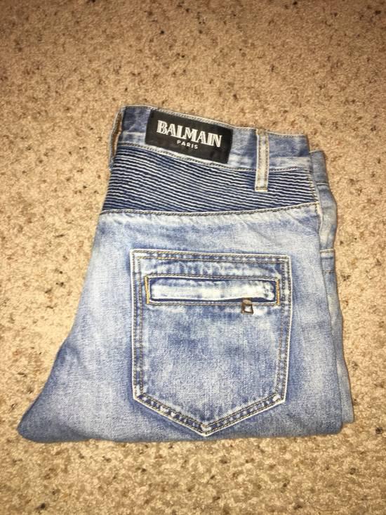 Balmain Balmain Men's Biker Jeans Size US 33